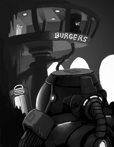 Dwarves need burgers.