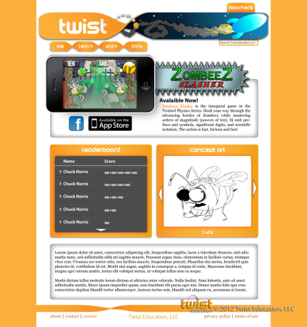 Twist Education Web Concept