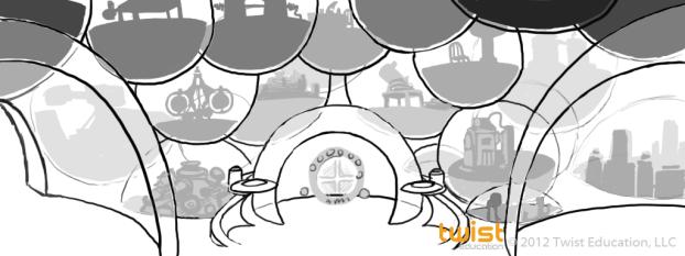 Matter Temple Interior - Sketch