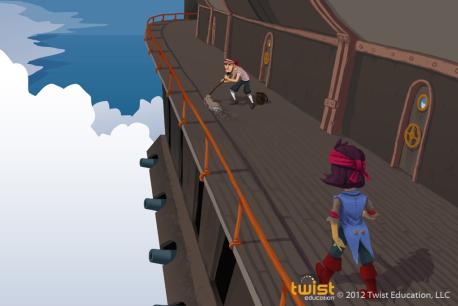 Airship Exterior Deck