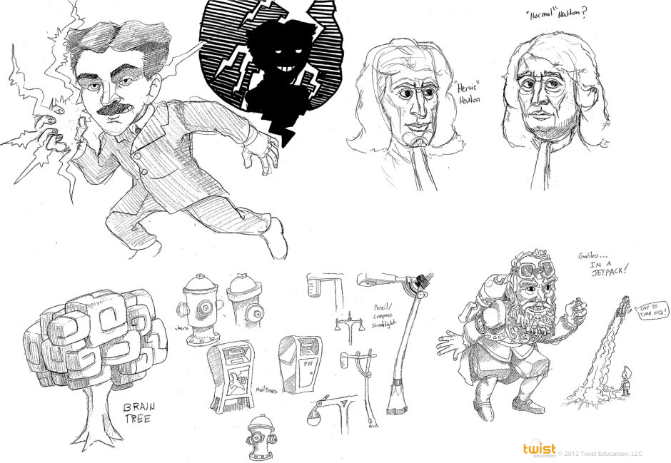 Fairhaven - Concept Sketches