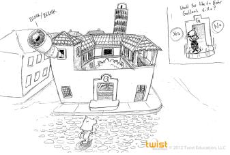 Galileo's House sketch