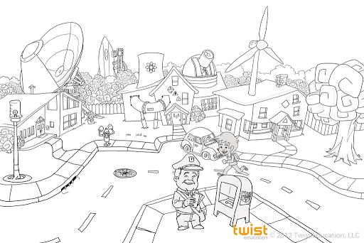 Twist Education 2D Artist Work