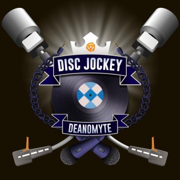 Disk Jockey, Deanomyte - Logo