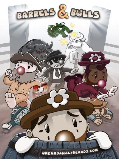 Barrels & Bulls Promotional Poster
