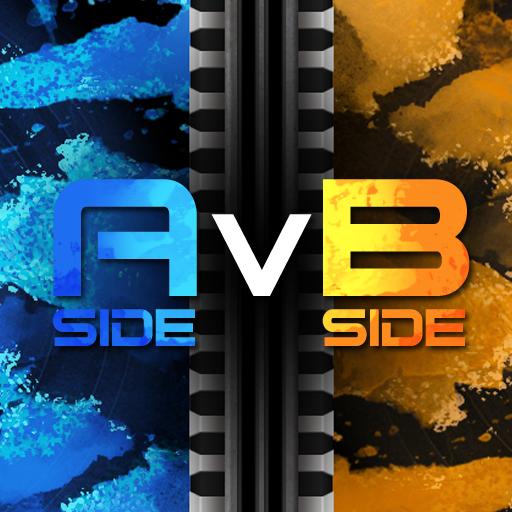 A-Side v. B-Side - Logo