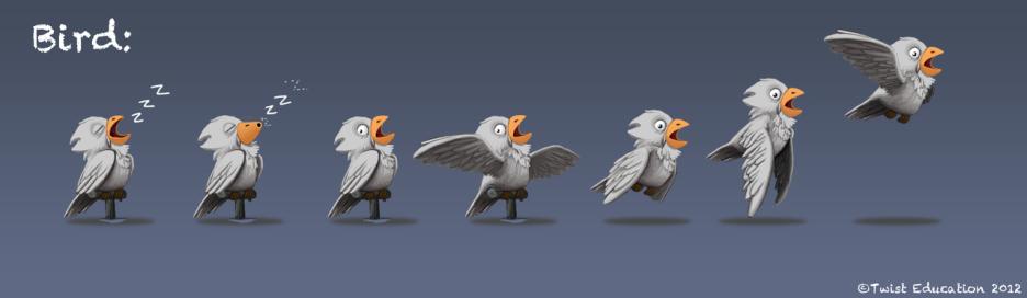 Lost in Limbo - Bird Animation