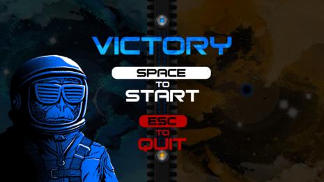 A-side V. B-side - Victory screen