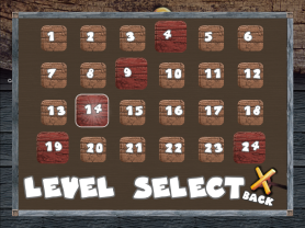Barrels & Bulls - Level Select