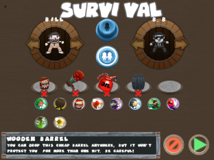 Barrels & Bulls - Character/Item Select