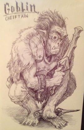 The Goblin Chief was an expert rogue.