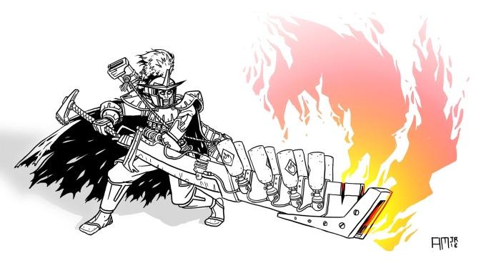 Torch blade
